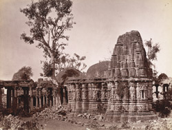 Ancient Hindoo Temple, Chitor.
